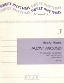 Jazzin' Around. Three pieces for recorder ensemble, piano and percussion.