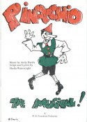 Pinocchio. A full length musical for children. (1991/92)