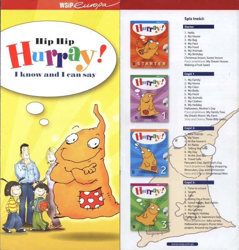 Music for 'Hurray,' an EAL coursebook. (WSiP, Warsaw. 2005 -2007)
